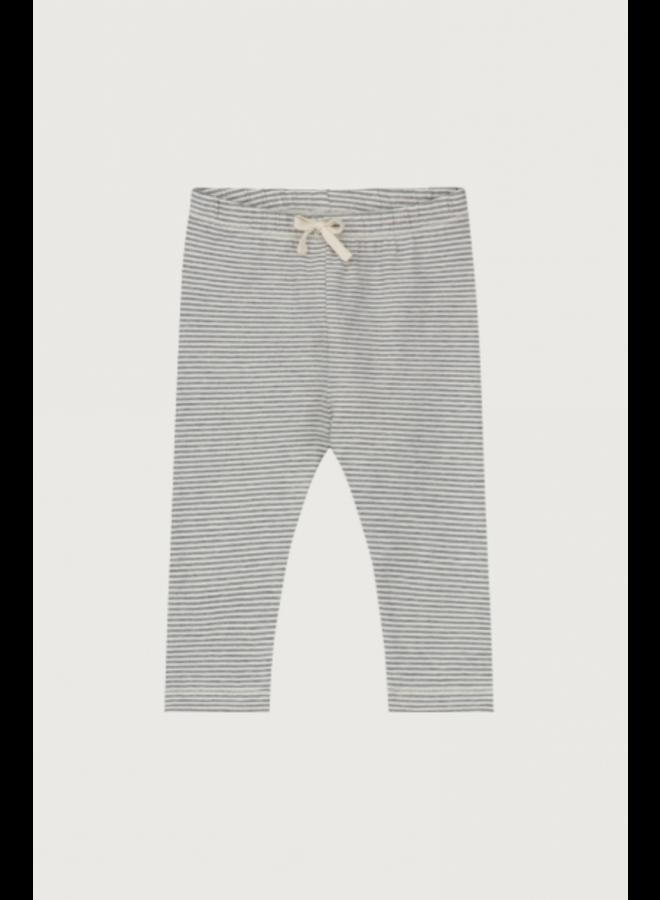 Baby Leggings - Grey Melange / Cream