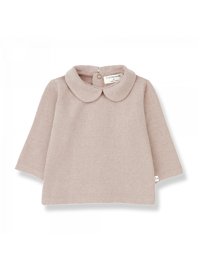 1+ in the family - Plain Jersey Angelica - Rose