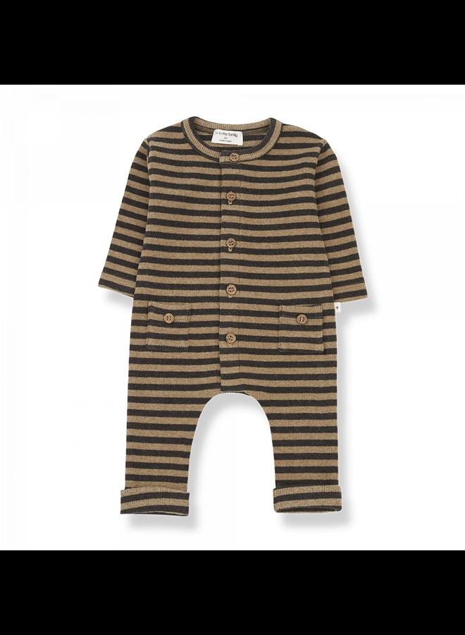 Striped Rib Roman - Brandy