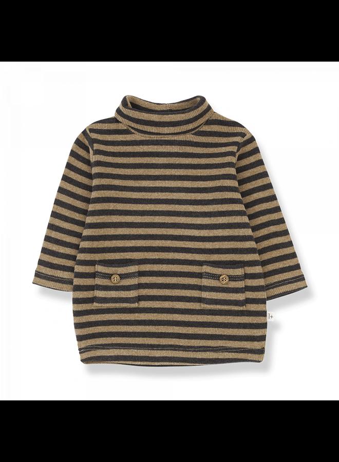 Striped Rib Diana - Brandy