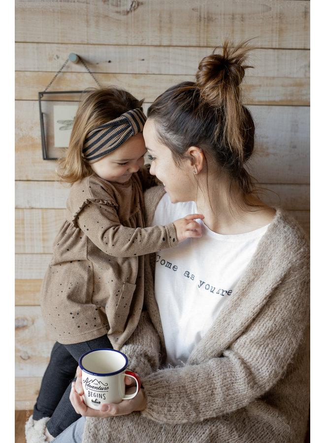 1+ in the family - Printed Jersey Aitana - Brandy