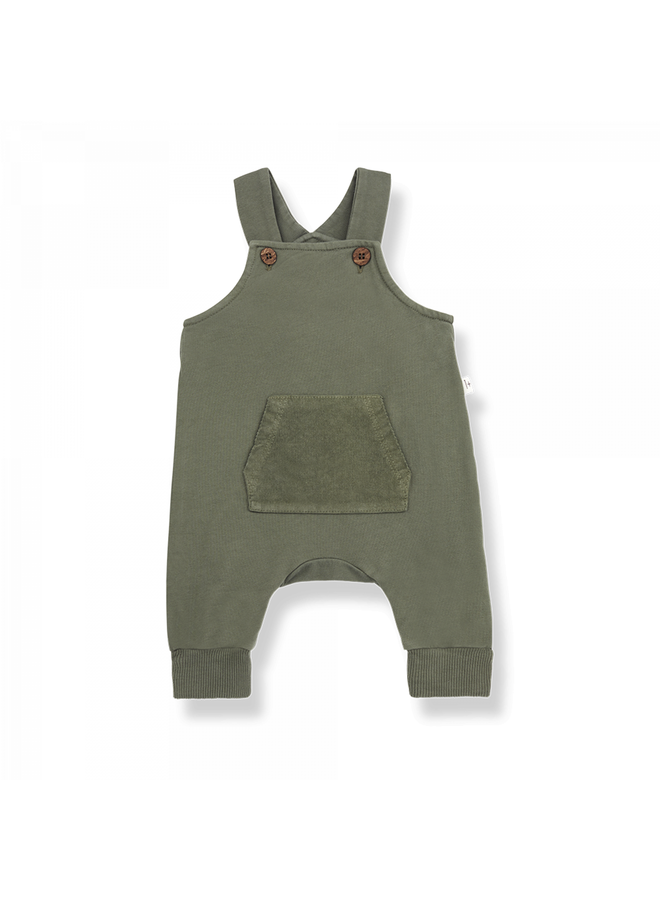 1+ in the family - Grinted Fleece George - Olive