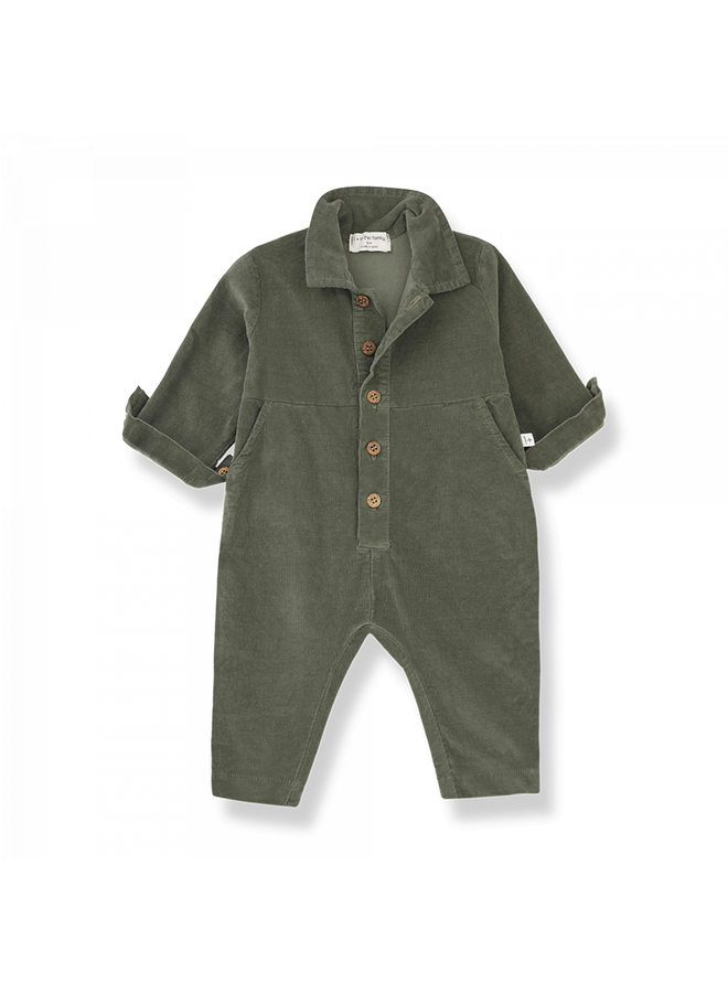 1+ in the family - Micro Corduroy Gaia - Olive