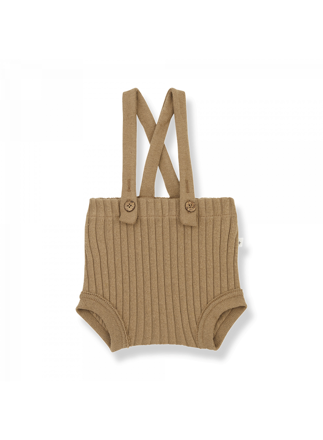 1+ in the family - Recycled Rib Fleece Cecile - Brandy