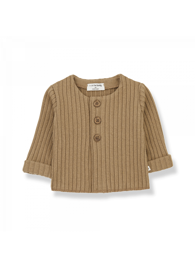1+ in the family - Recycled Rib Fleece Violette - Brandy