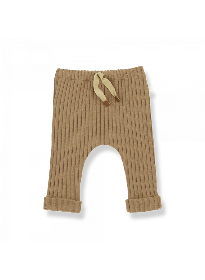 1+ in the family - Recycled Rib Fleece Gerome - Brandy