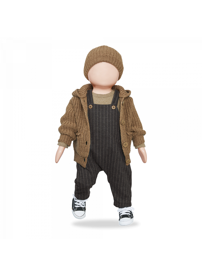 1+ in the family - One Color Knit Kai - Brandy