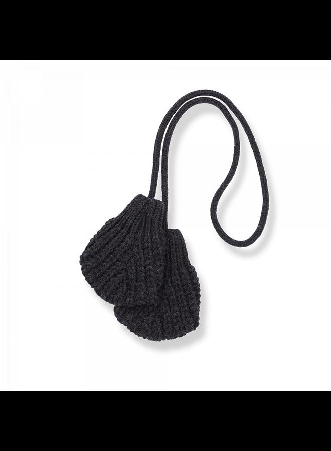 One Color Knit Leda - Charcoal