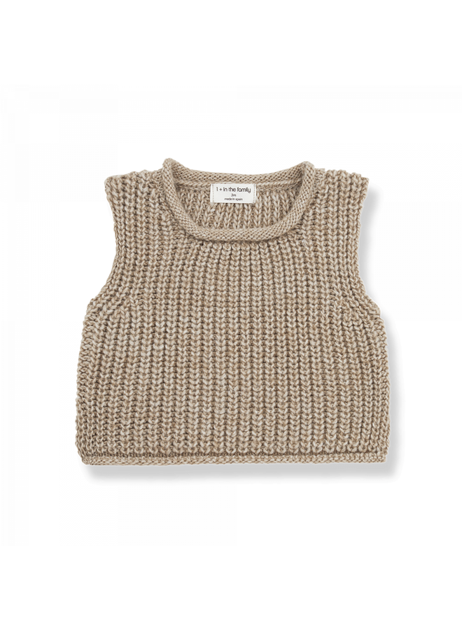 1+ in the family - One Color Knit - Gabriel - Beige