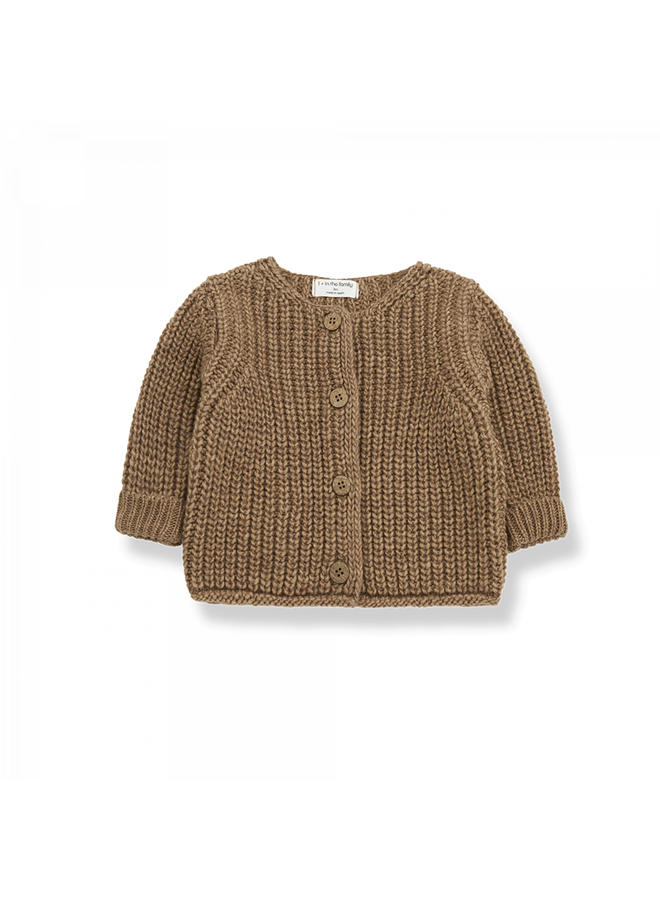 1+ in the family - One Color Knit - Rea - Brandy