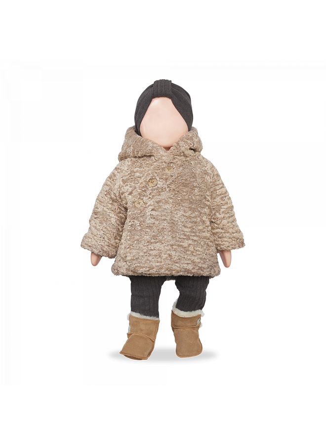 1+ in the family - Baby Furry - Flora - Beige