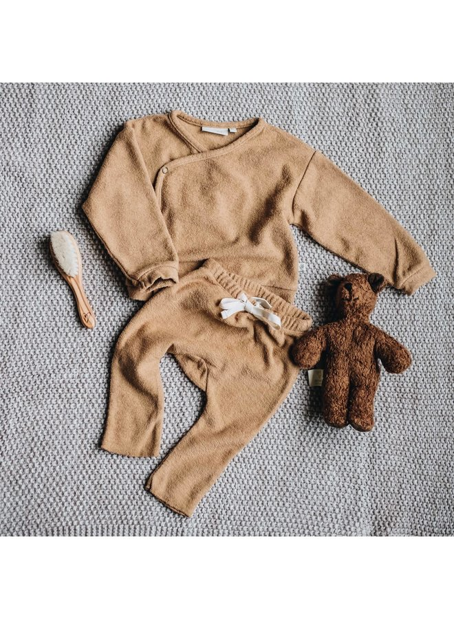 Blossom Kids - Teddy Baby Cardigan - Cumin