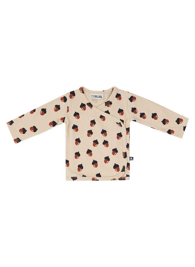 Acorn Waffle - Kimono Shirt Baby