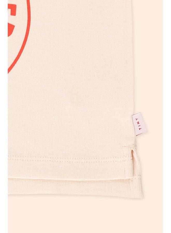 Tiny Cottons - Better Togheter Tank Top - Light Cream Red