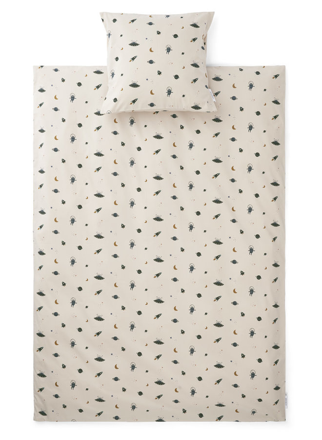 Carl - Adult Bedding Print - Space Sandy Mix