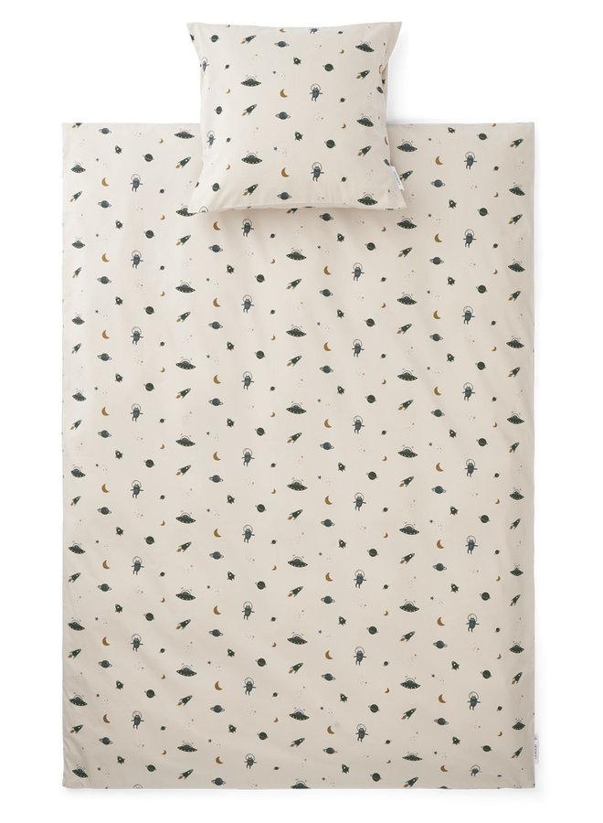 Liewood - Carl - Adult Bedding Print - Space Sandy Mix