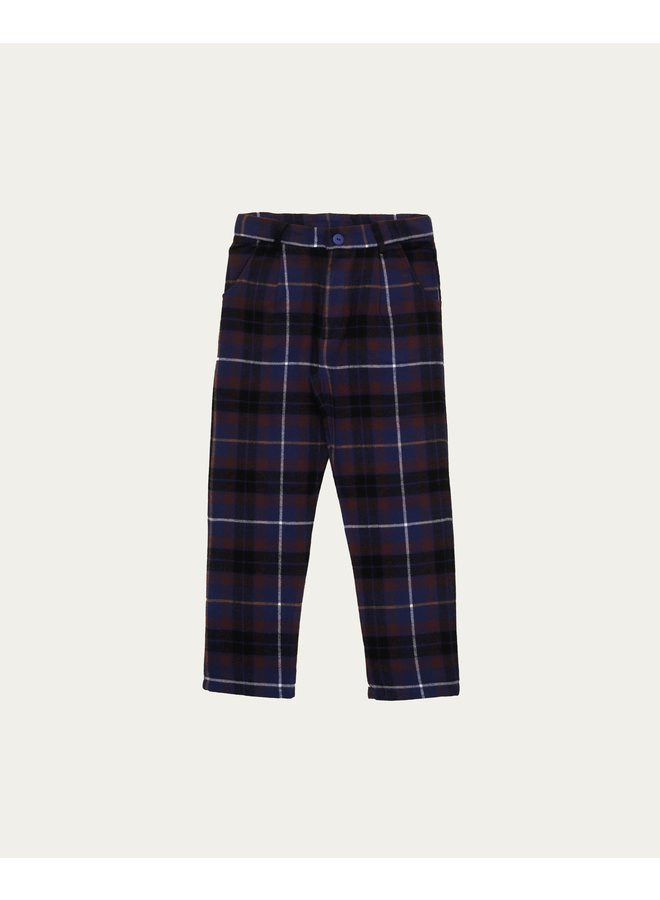 The Campamento - Blue Checked Pants