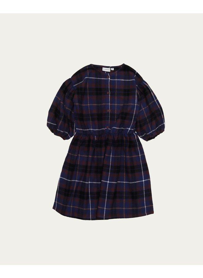 The Campamento - Blue Checked Dress