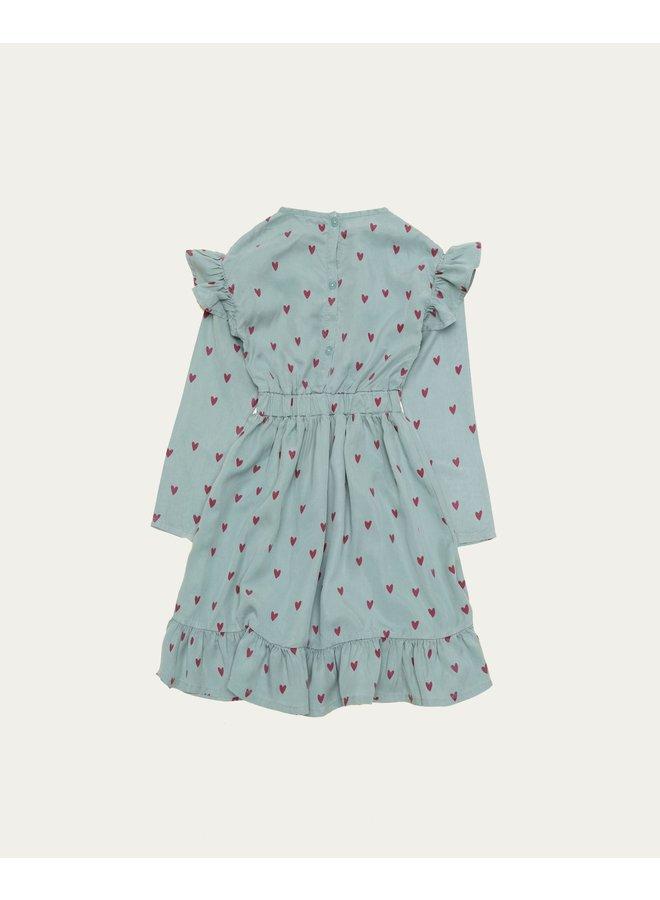 The Campamento - Blue Hearts Dress
