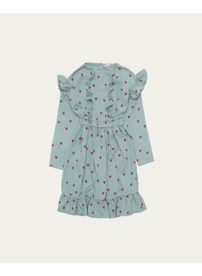 Blue Hearts Dress