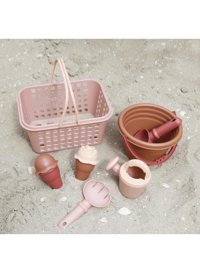 vanPauline - Beachset - Pink