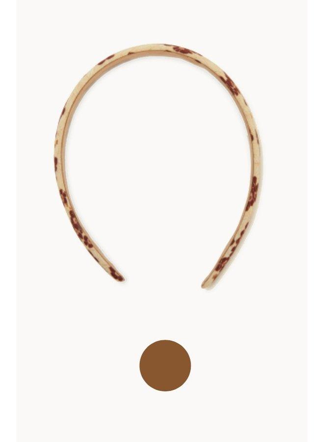 Konges Sløjd - 2 Pack Hairbrace - Winter Leaves Red/Leather Brown