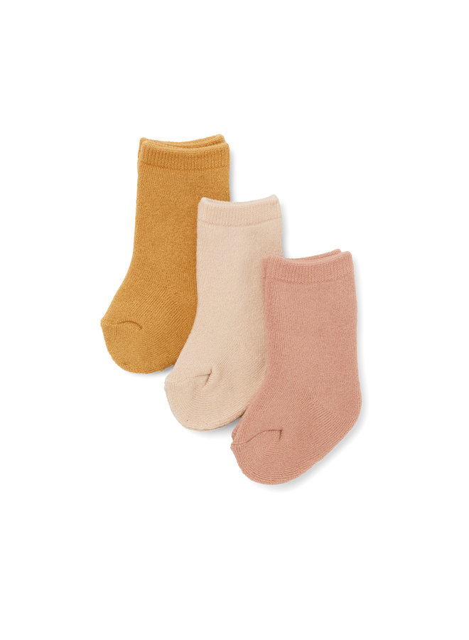 3 Pack Terry Socks - Ice Cream