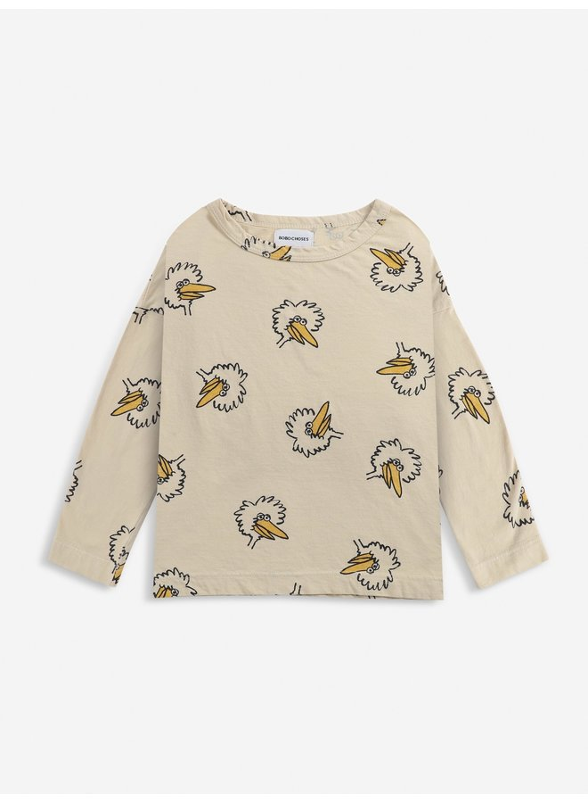 Birdie All Over - Long Sleeve T-Shirt
