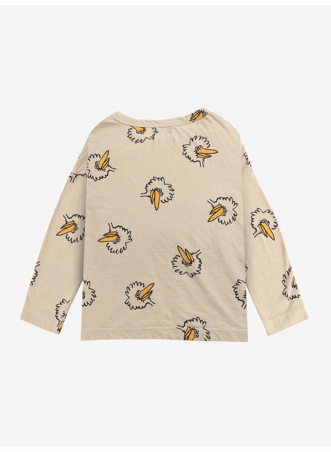 Bobo Choses - Birdie All Over - Long Sleeve T-Shirt