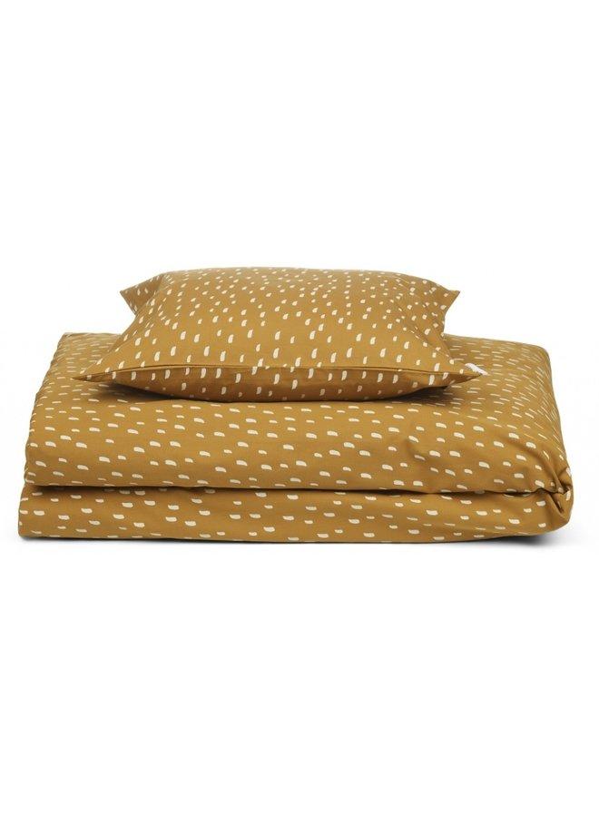 Carmen Baby Bedding Print - Graphic Stroke/Golden Caramel