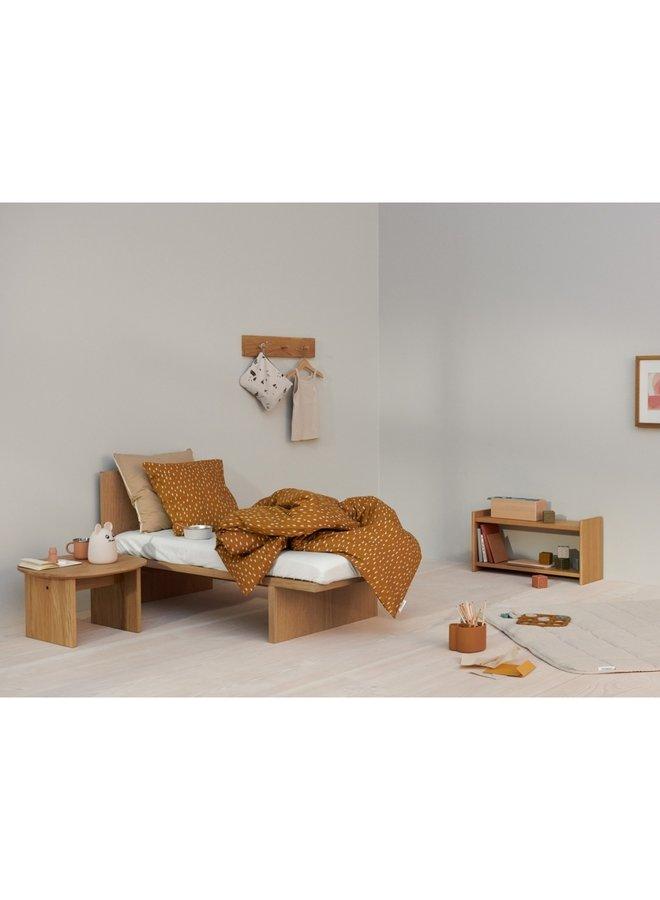 Liewood - Carmen Baby Bedding Print - Graphic Stroke/Golden Caramel