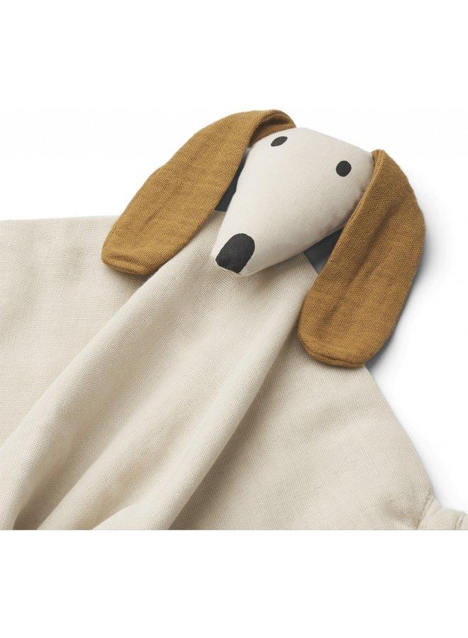 Liewood - Agnete Cuddle Cloth - Dog Sandy