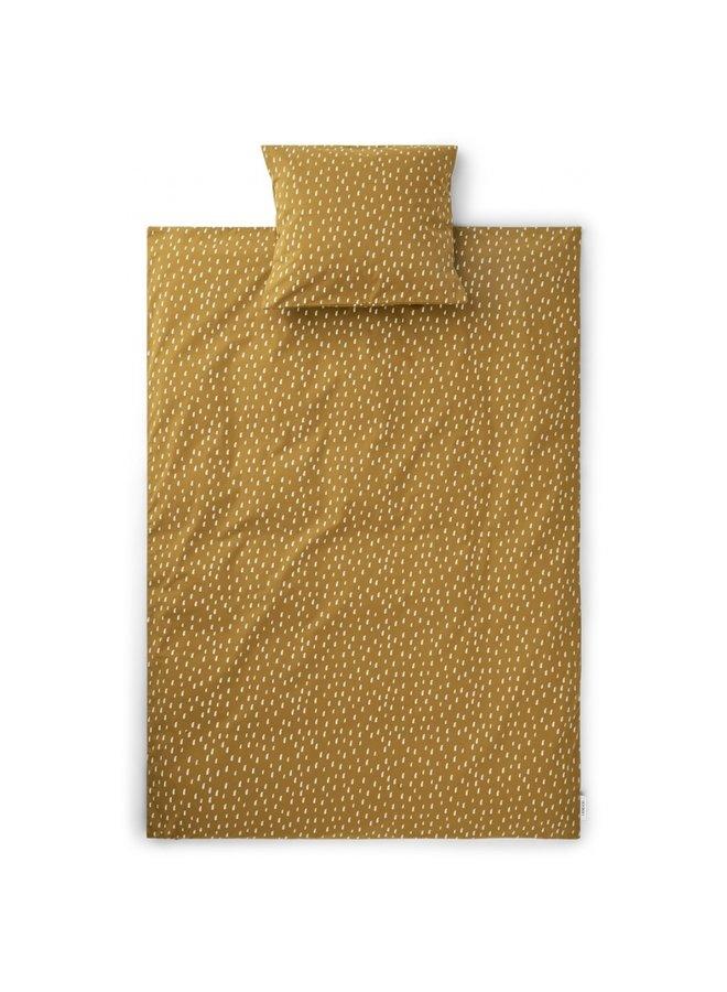 Liewood - Ingeborg Junior Bedding Print - Graphic Stroke/Golden Caramel