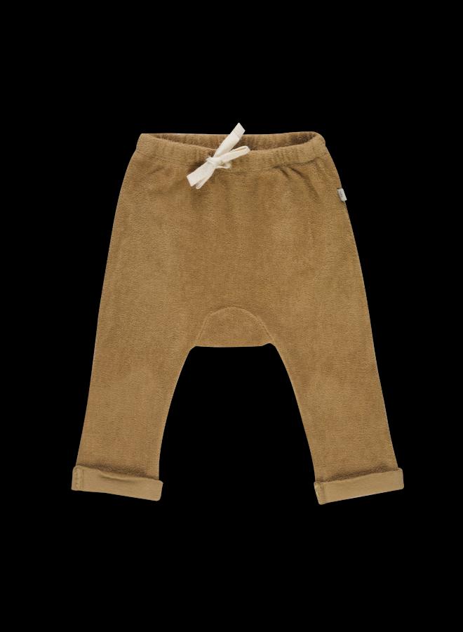 Teddy Baby Pants - Cumin