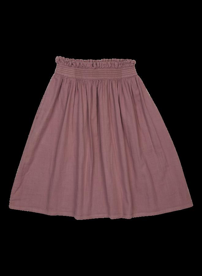 Midi Skirt  - Dusty Violet