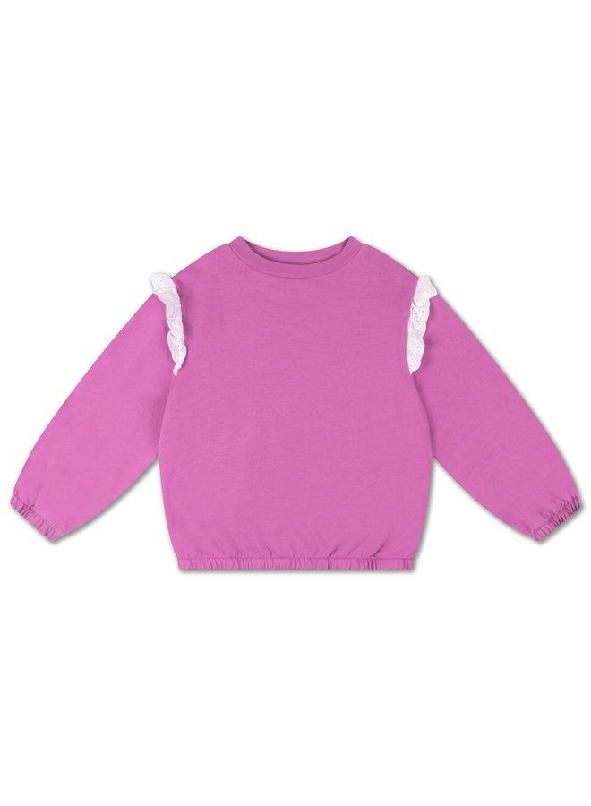Belle Sweater - Violet Orchid
