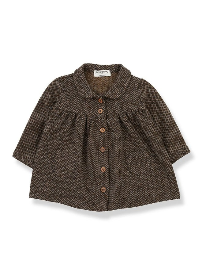 1+ in the family - Bonnie - Dress - Charcoal