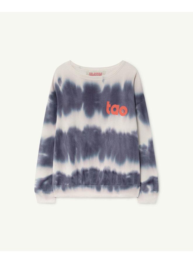 The Animals Observatory - Big Bear Kids Sweatshirt - Blue Tao