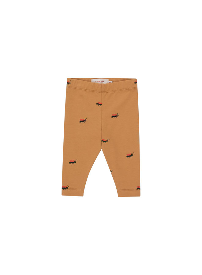 Ants Baby Pants - Clay/Ink Blue