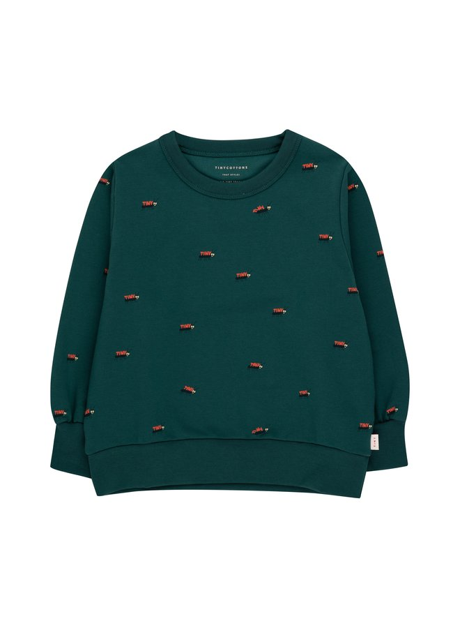 Tiny Cottons - Ants Sweatshirt - Stormy Blue/Ink Blue
