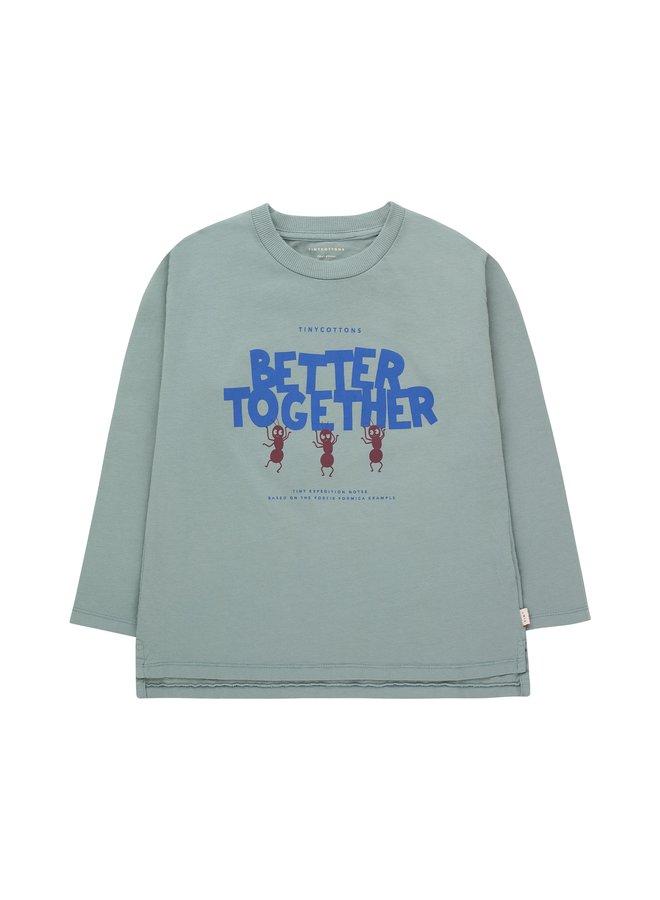 Better Together Tee - Foggy Blue/Ultra Marine