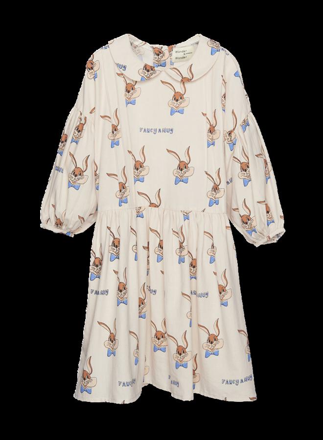 Abigail Dress - Ecru Bunny