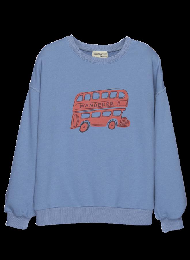 Bus Sweatshirt - Fog