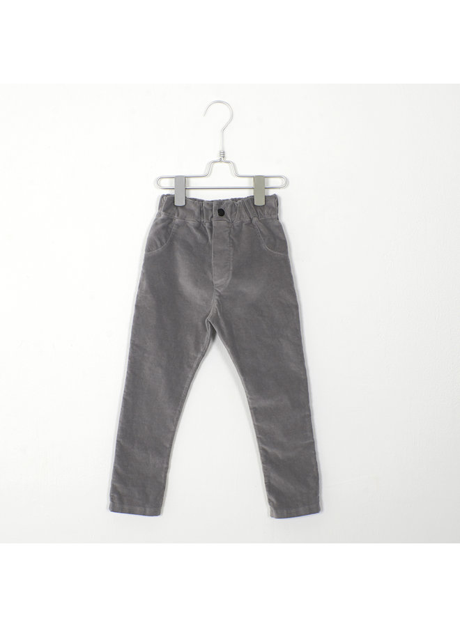 5 Pockets Solid - Grey
