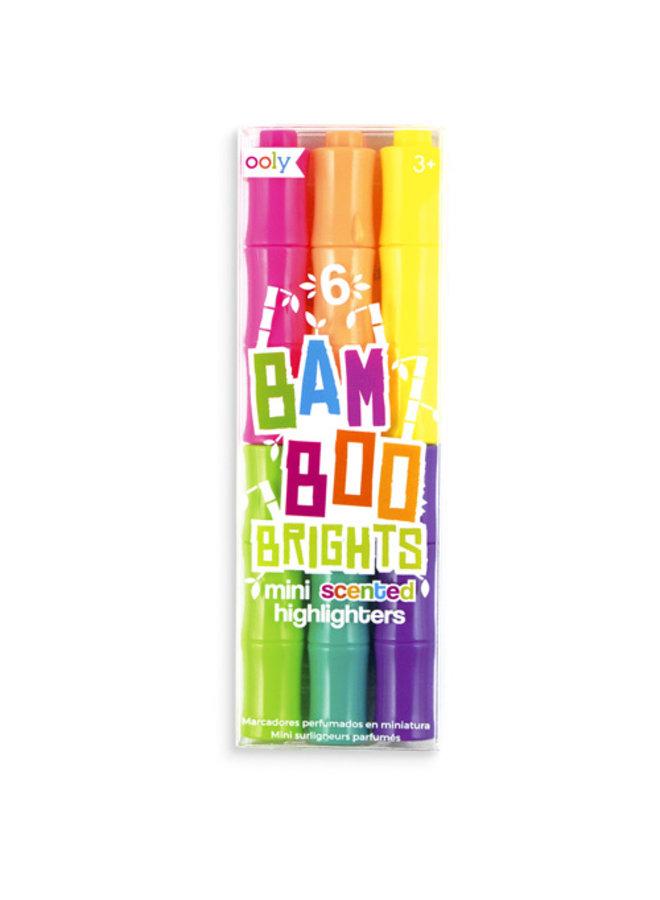 Ooly - Bamboo Brights kleine geur markeerstiften