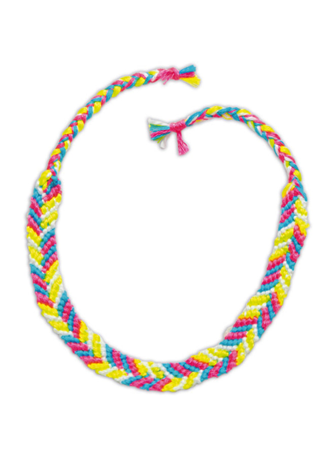 Janod - Atelier Bijoux - Neon Armbandjes maken