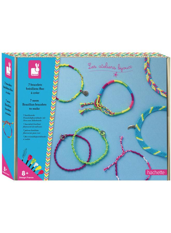 Atelier Bijoux - Neon Armbandjes maken