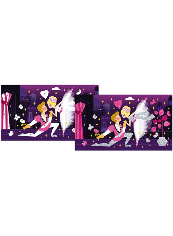Janod - Atelier - Neon Glitter Ballerina