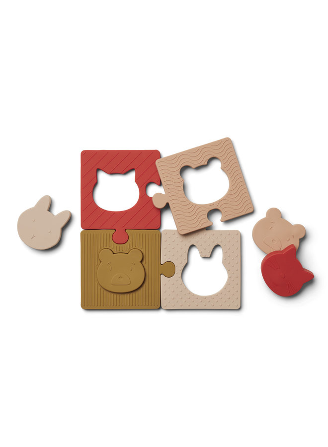 Liewood - Bodil Puzzle - Rose Multi Mix