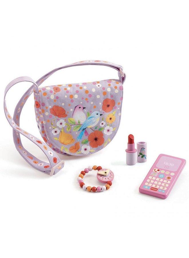 Djeco - Birdie bag and accessories - DJ06686